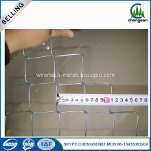 12.5 Gauge Electro Galvanized Chain Link Mesh