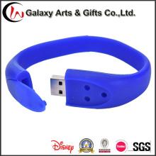 16ГБ красочные Браслет Браслет pendrive ручки USB привода вспышки USB силикона