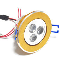 High power china 100-240v 3w adjustable led downlight