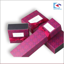 Изготовленный на заказ Коробка Размер белая карта печать Упаковка печенья шоколадный десерт
