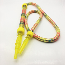 1.8m Yellow Sps Hookah Shisha Hose with Acrylic Mouthpiece (ES-HH-012-3)