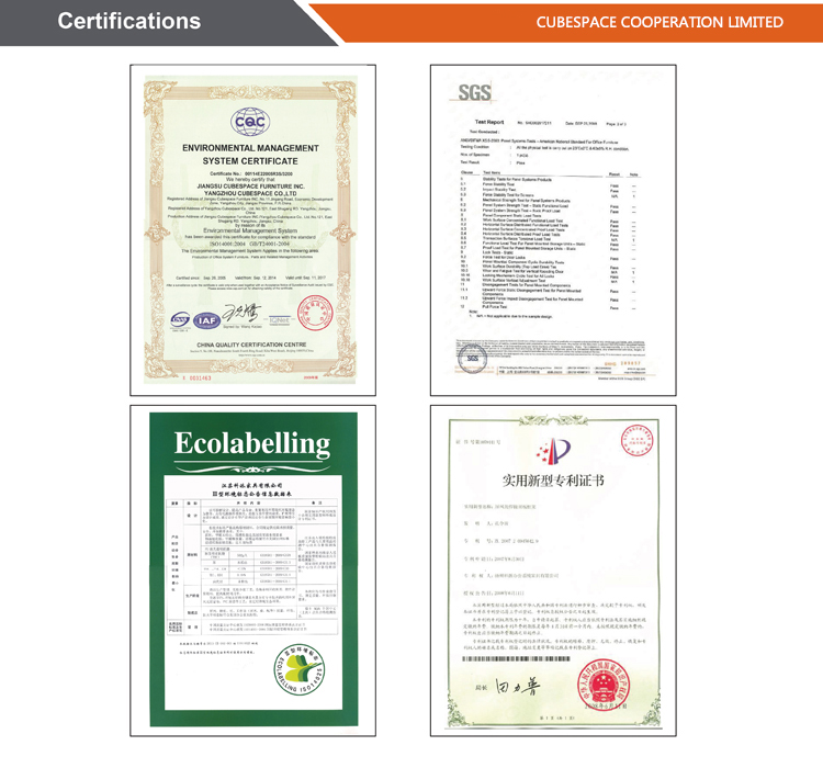 certifications of
