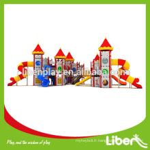 Très excellent toboggan en plastique extérieur / Super grand terrain de jeux extérieur toboggan pour enfants / Top toboggans de terrain de jeux extérieurs
