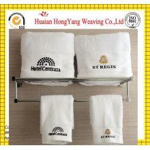 Luxury Hotel & Spa Toalla 100% auténtico algodón turco (blanco, paño de lavado - juego de 12)