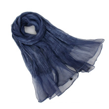 2016 Spring Latest Fashion organza Scarf Raw Silk Wrap Shawl