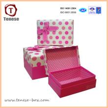 Caja de papel de regalo con caja de regalo