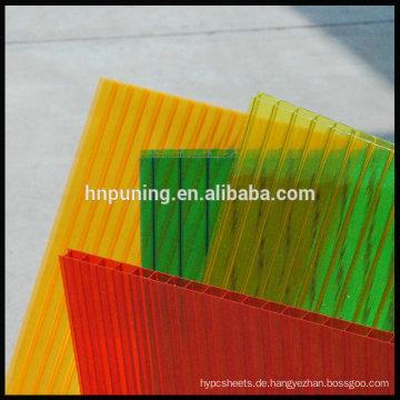 4mm-16mm Polycarbonat-Platte für Skylight Carport-Markise Dachdecker-Pool-Abdeckungen