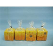 Pumpkin Candlestick Shape Ceramic Crafts (LOE2366-B5z)