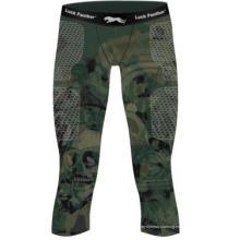 Pantalones cortos de boxeo de Compresión en blanco de encargo de los hombres en blanco