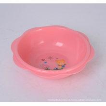 Lavabo redondo de plástico para bebés Lavabo