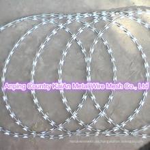 Tatuajes de alambre de púas / Alambre de púas / Alambre de afeitar galvanizado / Alambre de afeitar recubierto de PVC / alambre de púas ---- 30 años de fábrica