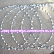 Arame farpado tatuagens / Razor Arame farpado / galvanizado Razor Wire / PVC revestido fio de barbear / arame farpado ---- 30 anos de fábrica