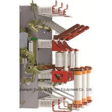 Fzrn16A-12D/T125-31,5-Hv charge pause interrupteur fusible combinaison avec mise à la terre de couteau