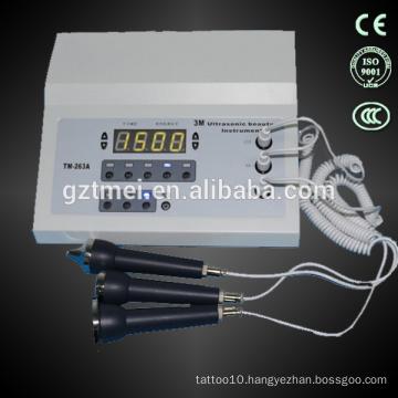 Skin whitening machine facial ultrasound massage equipment 3mhz ultraound for sale
