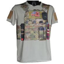Tática de esportes ao ar livre t-shirt militar Kryptek Camo t-shirt Fashion