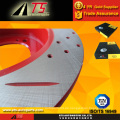 Anti-Rost-Brems-Rotor Regen-Beweis fortgeschrittene rote Beschichtung Rostschutz-Rotor-Bremse