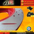 Антикоррозийный тормозной ротор Дождевой прочный красный красностойкий антикоррозионный роторный тормоз