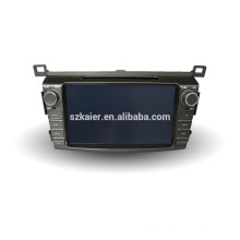 8Inch Android 4.4 car dvd player GPS for Toyota RAV4 2013 with mirror-link car gps