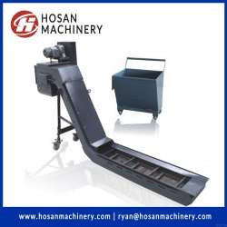 Hinged Belt Type Chip Conveyor for cnc machines
