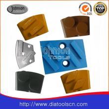 Diamantblock für Schleifbeton