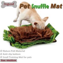 Pet Snuffle Mat Cão Cheiro Treinamento Mat Stress Nosework Blanket