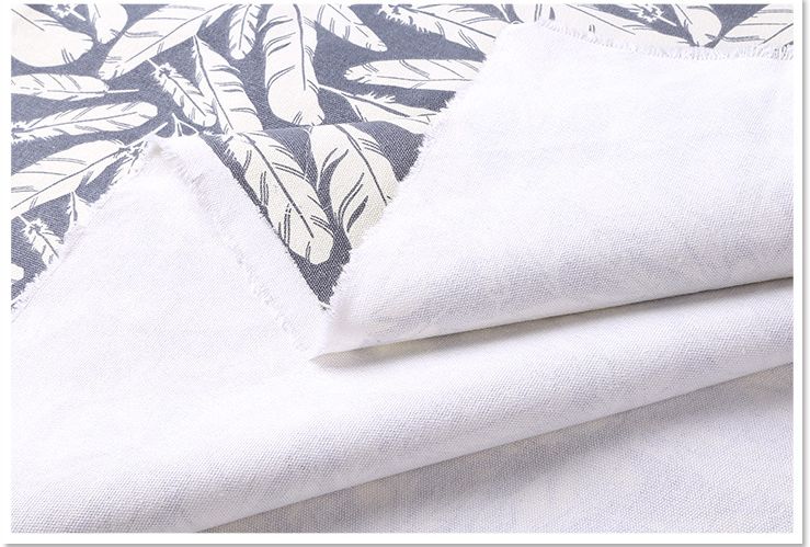 printed canvas fabric for home textile