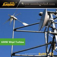 Le système de surveillance solaire de vent emploient le petit générateur de turbine de vent 800W