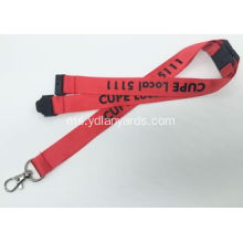 Trade Show Silkscreen Lanyards Dengan Pantone Color
