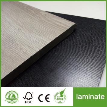 HDF Black oak Deep embossed laminate flooring