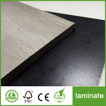HDF Black oak Suelo laminado en relieve profundo