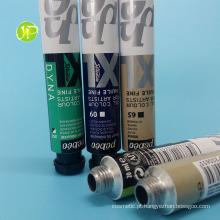 Tubos de alumínio pintura colagem de tubos tubos tubos descartáveis