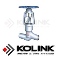 Шарнирный клапан с уплотнением давления с PED / Ce ISO9001