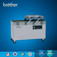 Máquina de empacotamento de vácuo da câmara dobro de aço inoxidável da venda quente do irmão DZ