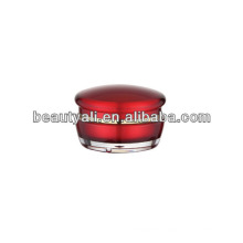15ml 30ml 50ml Mushroom Cosmetic Acrylic Cream Jar