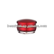 15ml 30ml 50ml Cogumelo Cosmético Acrílico Creme Jar