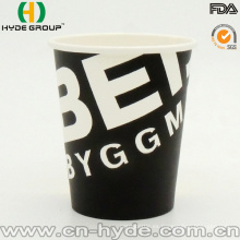Copa de papel de café de bebida caliente desechable de 7 oz