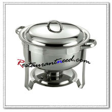 C092 Stainless Steel Round Soup Station / Soup Kettle