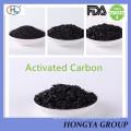Cáscara de coco carbón activado para la extracción de oro
