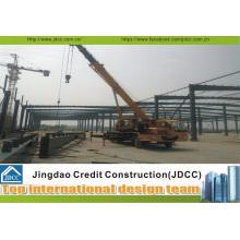 Fácil instalación de estructuras de acero prefabricadas