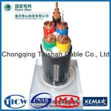 Хорошее качество PVC / XLPE Материал различные типы электрических кабелей