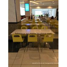 Mobília francesa do restaurante da corte de alimento do estilo (FOH-SLO2)