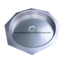Tampão de extremidade de carimbo de aço inoxidável para o filtro