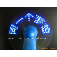 program led message fan