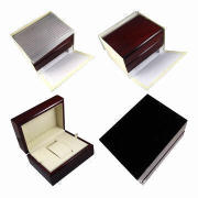 New Arrival Luxury Brown Glossy Handcrafted Wooden Jewelry Boxes