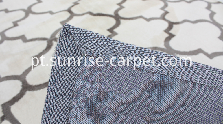 Microfiber Rug with Geometry Design