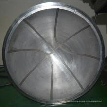 Peça fazendo à máquina grande do CNC da forma da bola no serviço do OEM