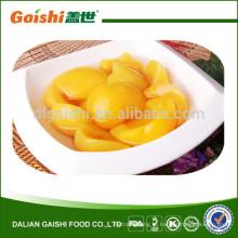 консервированные фрукты желтый персик половинки #83