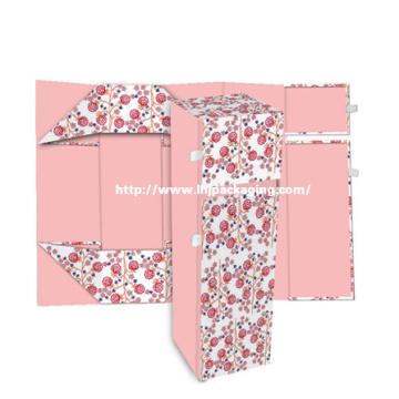 Caja de regalo de embalaje de papel plegable