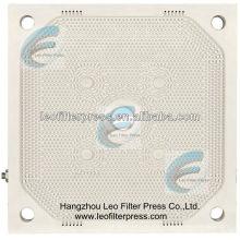 Filtro Leo que presiona la membrana de alta presión que exprime la placa del filtro