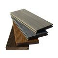 Decking composé en plastique en bois de Wpc de prix d'usine pour extérieur
